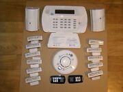 Adt Wireless Security System With 14 Sensors And 1 Control Center, New In March,