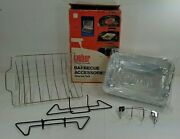 Vintage Weber Grill Barbecue Accessories Starter Kit - Open But Unused - 8801