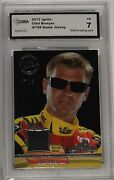 2012 Press Pass Ignite Materials Clint Bowyer Black Race Used Im-cb Silver Nm 7