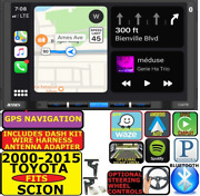 2000-2015 For Toyota And Scion Nav Apple Carplay Android Auto Bluetooth Car Stereo