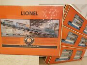 Lionel 6-21950 Sd-70 Maersk Maxi-stack Set And 3 6-36935 Container Sets - Sealed