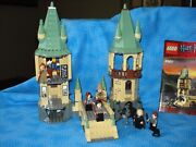 Lego Harry Potter Hogwarts 4867 Used Boys/girls 7-14 Discontinued W/booklet