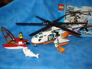 Lego City Coast Guard Helicopter 60013 Used W/booklet Boys/girls5-12