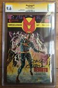 Miracleman 1 Alan Moore 1985 W/p Cgc Ss 9.6 0181255003 Dave Gibbons