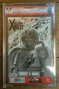 All New X-men 17 Lego Sketch Variant X-men 1 Swipe Cbcs 9.8 Signed By Stan Lee
