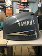 Yamaha Four Stroke 225 Hp Top Cowling/ Fits F200-f225 3.3l. 02and039 -10and039- Stk 9154