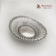 Louis Xv Pierced Candy Dish Footed Whiting Sterling Silver 1891