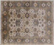 8and039 3 X 9and039 9 Turkish Oushak Hand Knotted Wool Rug - W1023
