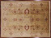 Peshawar Signed Hadmade Wool Rug 8and039 8 X 11and039 5 - W1564