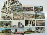 New Mexico Nm 27 Linen Lot Pre-wwiiand Wwii 1 Large Letter Roadside Americana 510