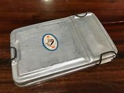 Vintage Aluminum Lunchboxestin Canbento Box More Than 45 Years Ago