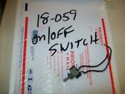 On/off Toggle Switch From Vintage 9 X 30 General Electric Workshop Wood Lathe