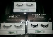 Lot Of 3 New Pairs Covergirl Cover Girl Katy Perry Katy Kat Wink Faux Eye Lashes