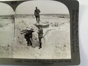 Ww1 German Pill Box In The Blanc Mont Sector Champagne Keystone Stereoview Card