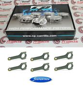 Cp Pistons - 8.5 Cr - 86mm Bore And Supertech Connecting Rods Set For Bmw S54b32