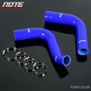 For 1976 Ford F100 351 Cubic Inch V8 Silicone Radiator Hose Pipe And Clamps Kit