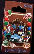 Disney Pins - Wdw - Gingerbread House Collection 2013 – Ariel Carousel - Le 1000