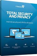 F-secure Total Security And Privacy 2021 1yr / 5pcs Devices Authentic Licence