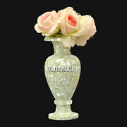 12and039and039 Marble Flower Vases Mother Of Pearl Random Inlay Wedding Decor Gifts H3755