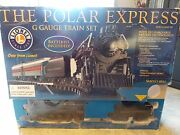 Lionel The Polar Express G Guage Battery Powered Train Set W/extra Tracks