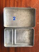 Vintage Aluminum Lunchboxestin Canbento Box More Than 45 Years Ago Ii