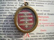 Christian Reliquary 1600s Relic Sepulchre Manger Stone Anointing Jesus Christ
