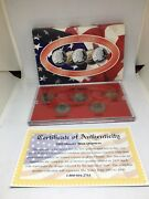 1999 D Denver Mint Gold Edition State Quarter Collection 5 Pc Free Shipping