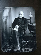First Known Tintype Portrait Of John Quincy Adams Sixth President Tintype C949rp