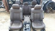 11 Ford F-150 Platinum Edition Brown Leather Seats And Center Console