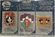 Disney Store 30th Anniversary Limited Edition Pin Set Week 1 Of 10 Ariel