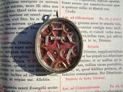 Christian Reliquary 1700s Relic Jesus Christ Baby Wrapper Holy Family 14 Saints