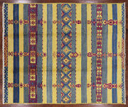8and039 2 X 9and039 7 Signed Moroccan Handmade Wool Rug - P6223