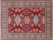 8and039 0 X 10and039 3 Hand-knotted Kazak Area Rug - P5923