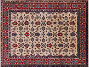 Kazak Hand Knotted Rug 9and039 2 X 12and039 1 - P5751