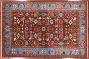 Hand Knotted Fine Serapi Wool Area Rug 6and039 1 X 9and039 2and039and039 - Mc157