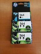 Hp 564 933 60xl And 17 Ink Cartridges - Black Blue Yellow Magenta Tri-color