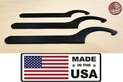 Streetrays Usa Steel Spanner Tool Wrench Wrenches Coilover Adjustment Set Of 3