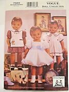 Vogue 7565 18 Doll Clothes Pattern_fits American Girl + Patsy_1930s Style_uncut