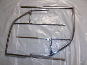 Porsche 356 B - Door Window Frames - Matched Pair - L And R - Very Good Condition