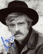 Autographe Sur Photo 20 X 25 De Robert Redford Signed In Person + Video Proof