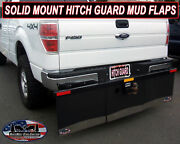 Hitch Mounted Solid Mount Mud Flaps 74 Wide X 20 Tall Three Mud Flaps Accross