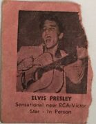 Elvis Tampa 1956 Concert Ticket Stub With Amazing Newspaper Article - Rare