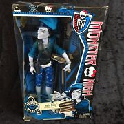 Monster High Scaremester Invisi Billy Son Of The Invisible Man Boy Doll