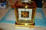 Atmos Clock Jaeger Lecoultre Model 528-8 Non Working With Minute Hand Removed