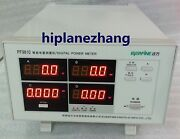 Bench Power Factor And Power Meter Total Harmonic Distortion Analyzer Rs232 Pf9810