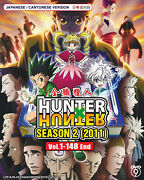 Hunter X Hunter 2011 Complete Anime Dvd 148 Episodes Now English Dubbed