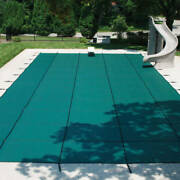 Blocmeshandtrade 99 Pool Cover Includes Installation Hardware 30 Day Production Time