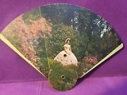 Advertising Folding Hand Fan Pulliam Funeral Home Robinson Oblong Illinois