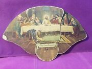 Advertising Folding Hand Fan Index Notions Co. Oblong Illinois