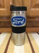 Ford Cup Mug Coffee Truck Cars Coupe Stainless Steel Metal Mustang Vintage Style